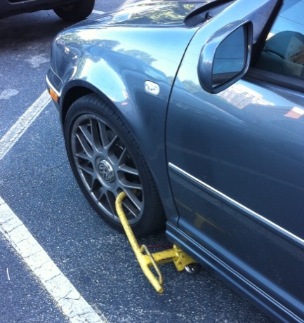 What Happen When Your Car Get Booted